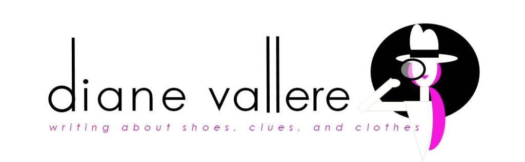 diane vallere, fashion, mystery, shoes, clues, clothes, vintage